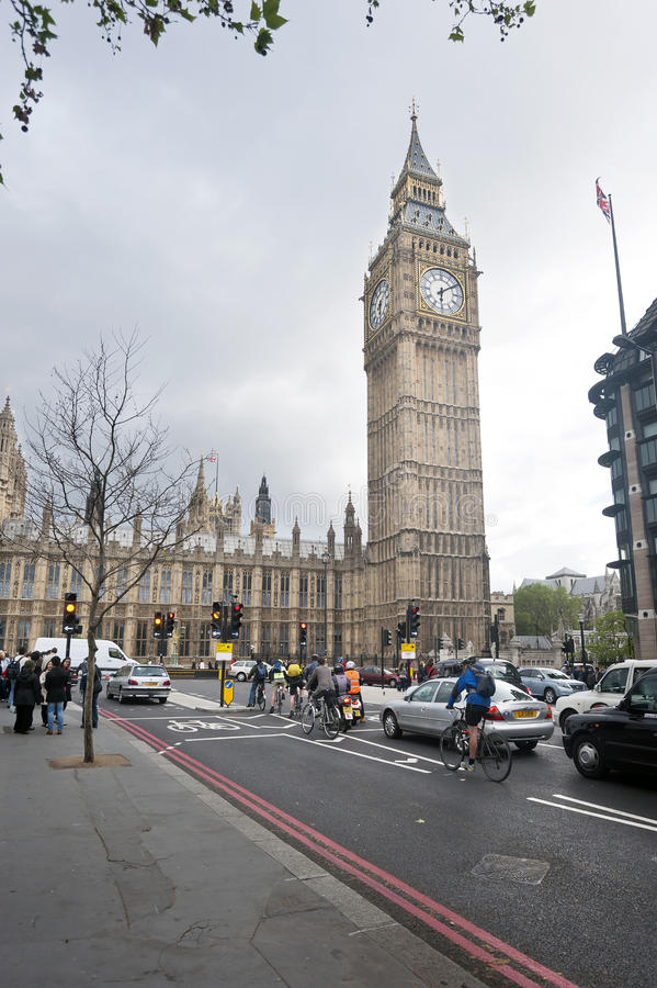 Download London Street, Big Ben Clock Tower Editorial Photo - Image: 33556641