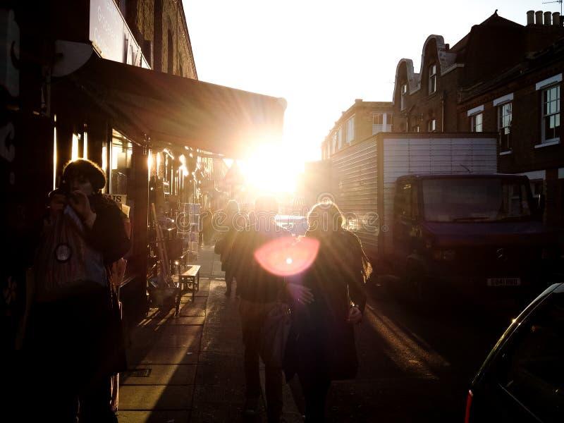 London Street lizenzfreie stockbilder