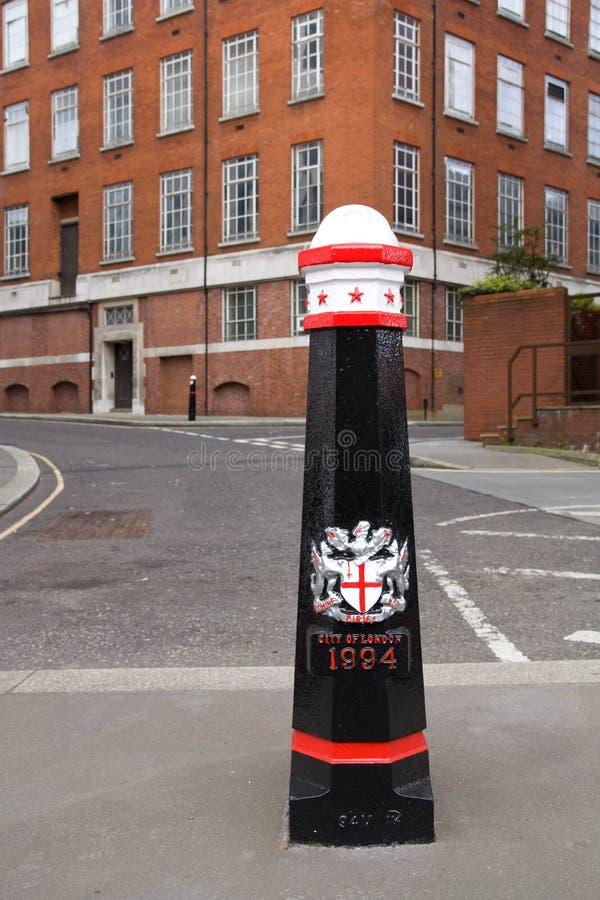 London Street Pole Royalty Free Stock Photo