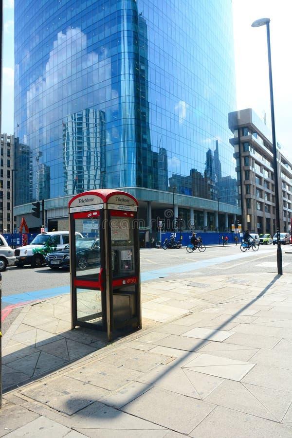 Free London Street Scene Royalty Free Stock Photography - 43450577