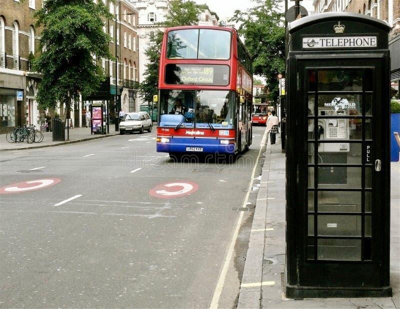 London Street Scene stock photography