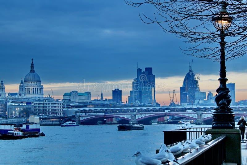 London Sunset Editorial Photography