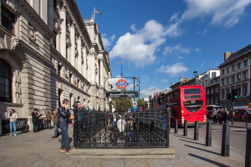 London Street Scene royalty free stock photo