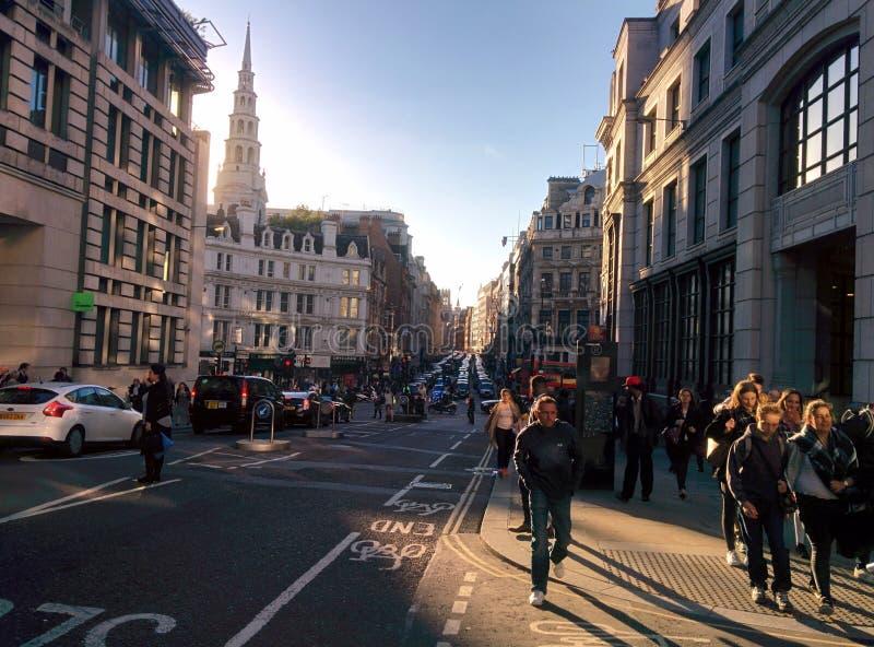 London Streets royalty free stock photo