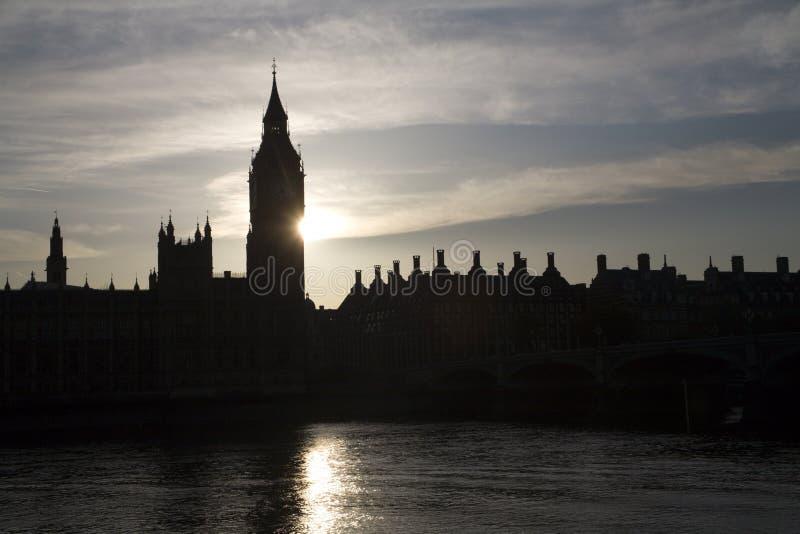 Download London - Sunset Over Big Ben Stock Image - Image: 9959801