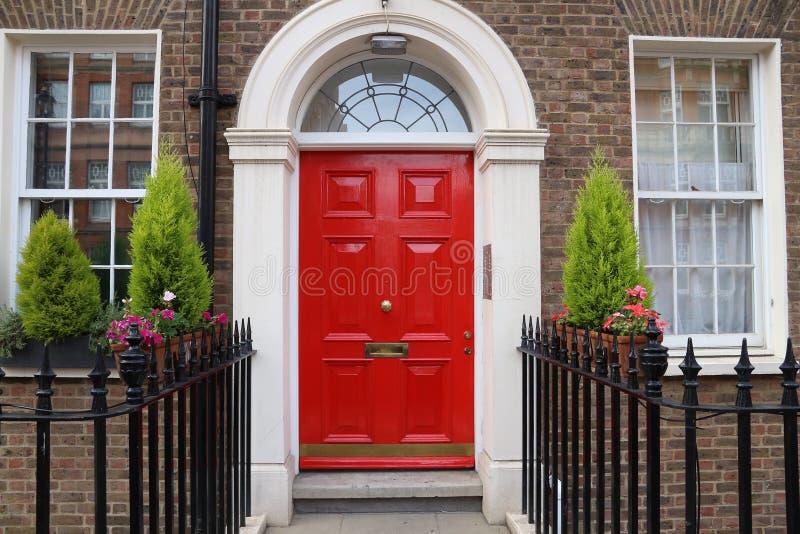 London-Tür lizenzfreie stockfotografie