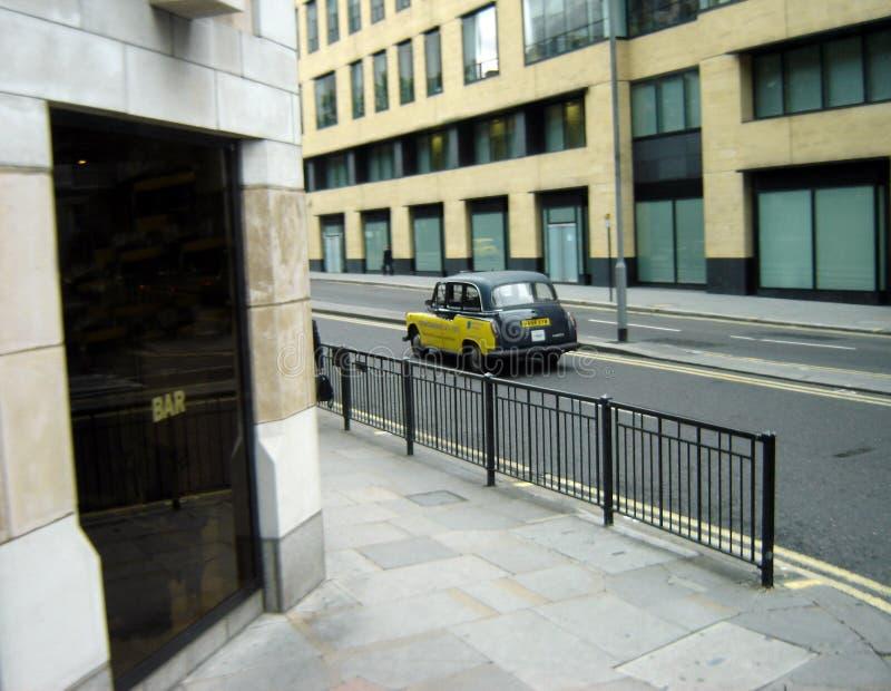 london taksówkę obrazy royalty free