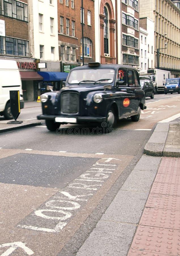 London taxar royaltyfri bild