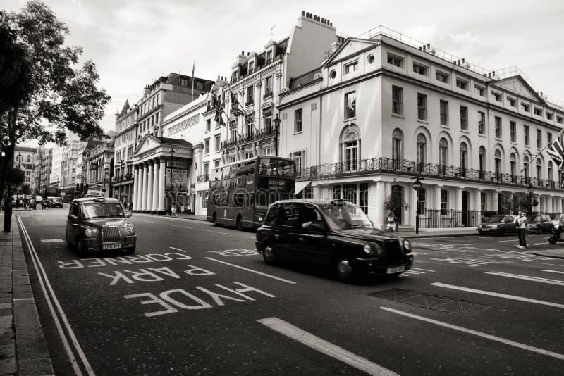 London Taxi Editorial Stock Photo