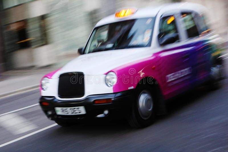 Download London taxi cab editorial image. Image of streets, auto - 15399120