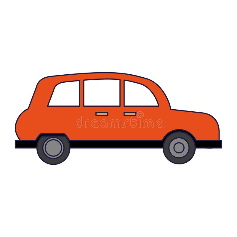 London taxi cab. Isolated vector illustration graphic design vector illustration