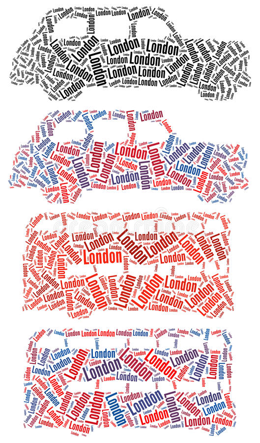 London Taxi And London Bus Stock Photography