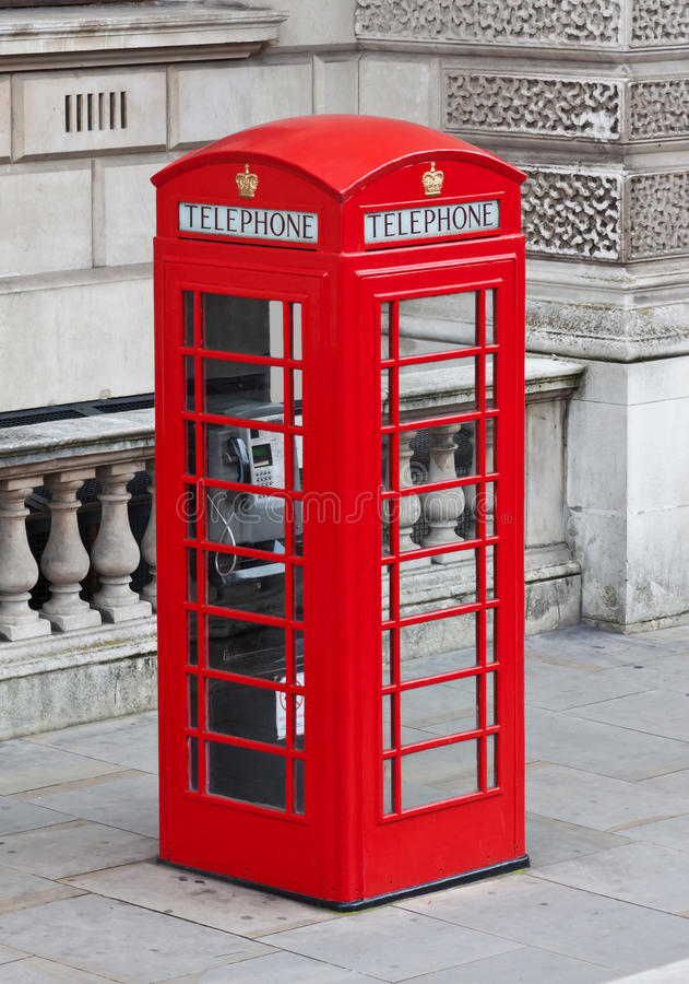 London telefonask arkivbilder