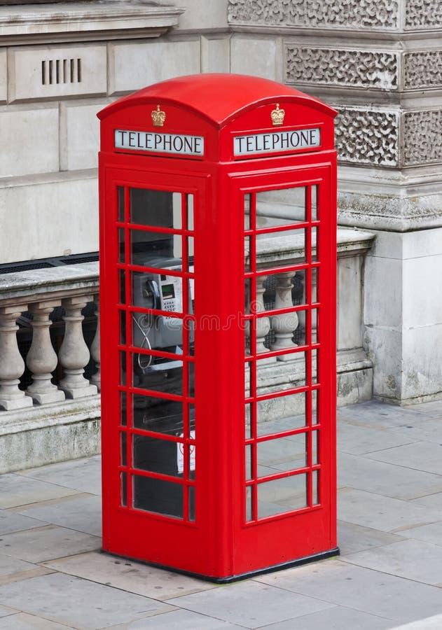 London-Telefonkasten stockbilder