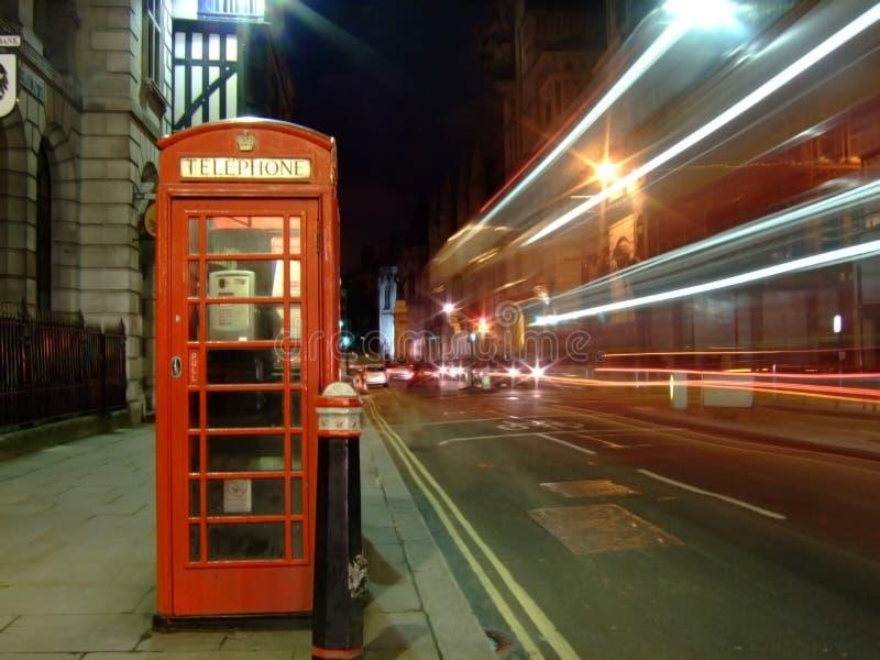 London-Telefonstand stockfotos