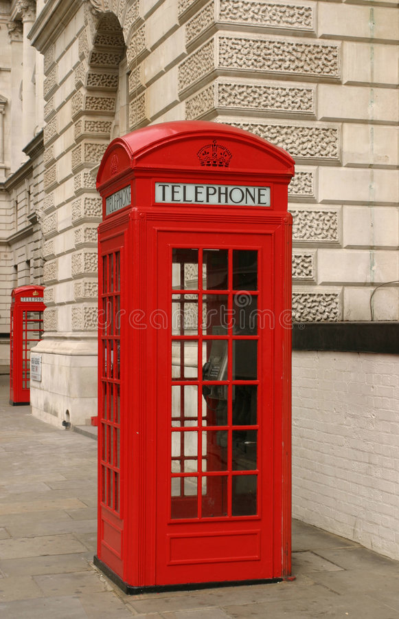 London-Telefonstand stockfotografie