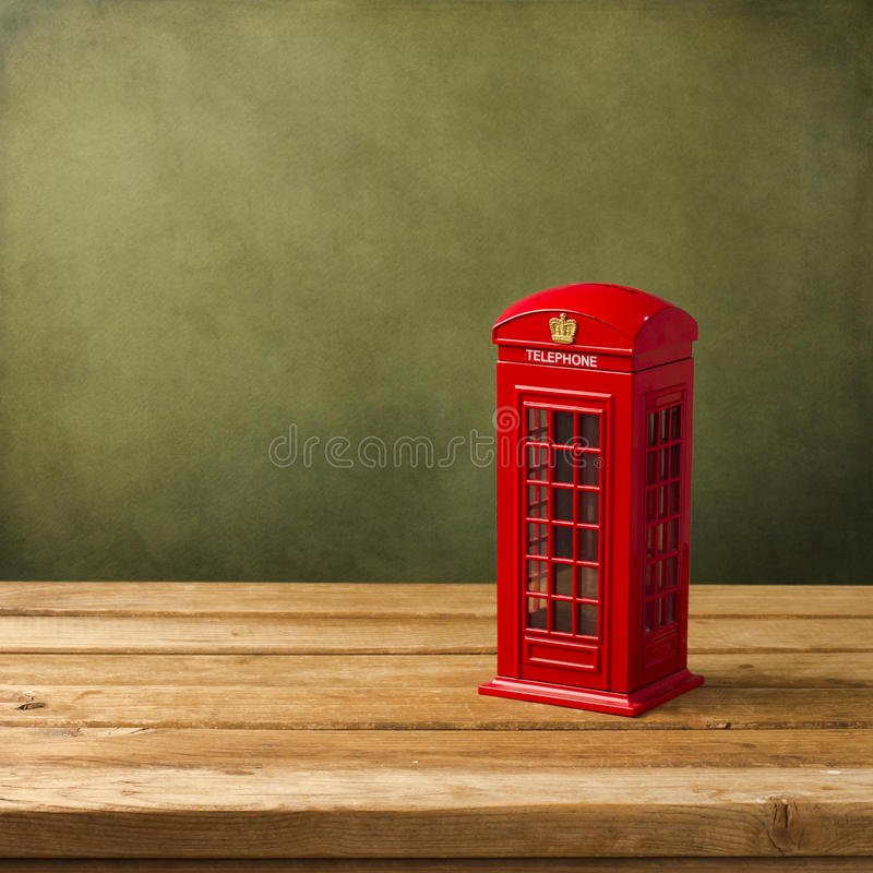 Download London Telephone Booth Moneybox Stock Photo - Image of england, style: 27430080