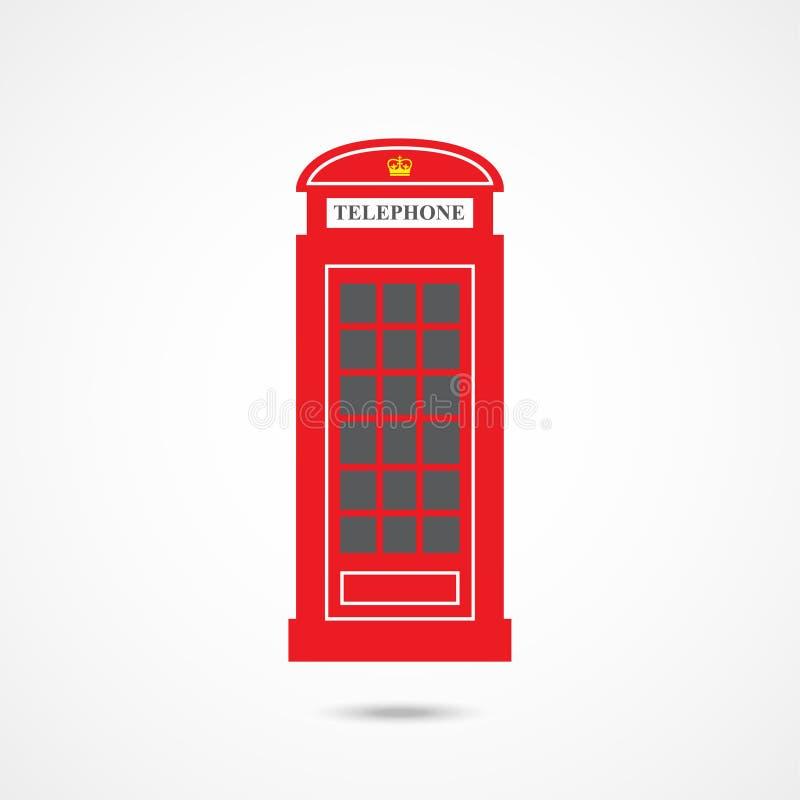 London telephone box royalty free illustration