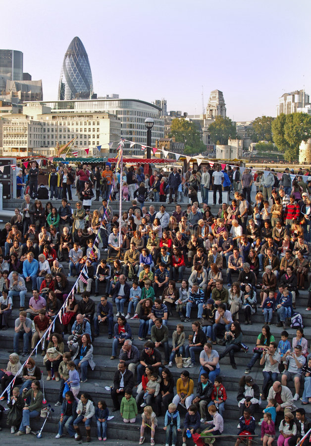 Download London Thames Festival 2008 Editorial Photography - Image of city, watching: 6391437