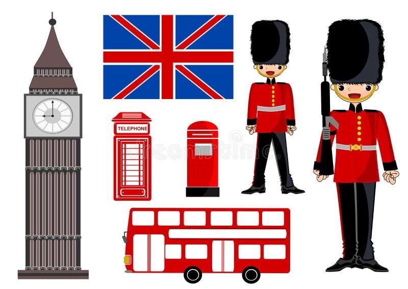 London icon. London theme icon concept illustration isolated stock illustration