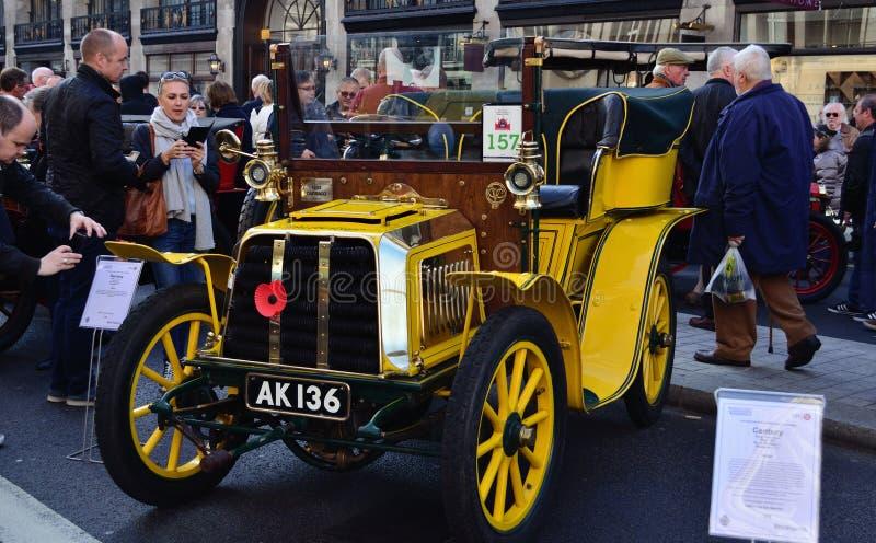 London to Brighton veteran cars run royalty free stock photos