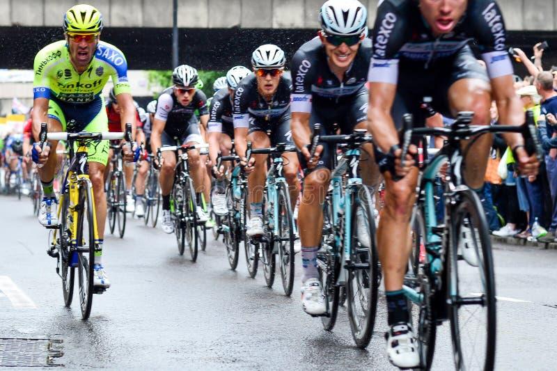 2014 London, Tour de France lizenzfreie stockfotos