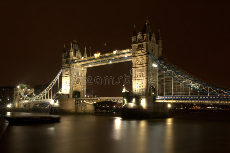 London Tower Bridge stock image