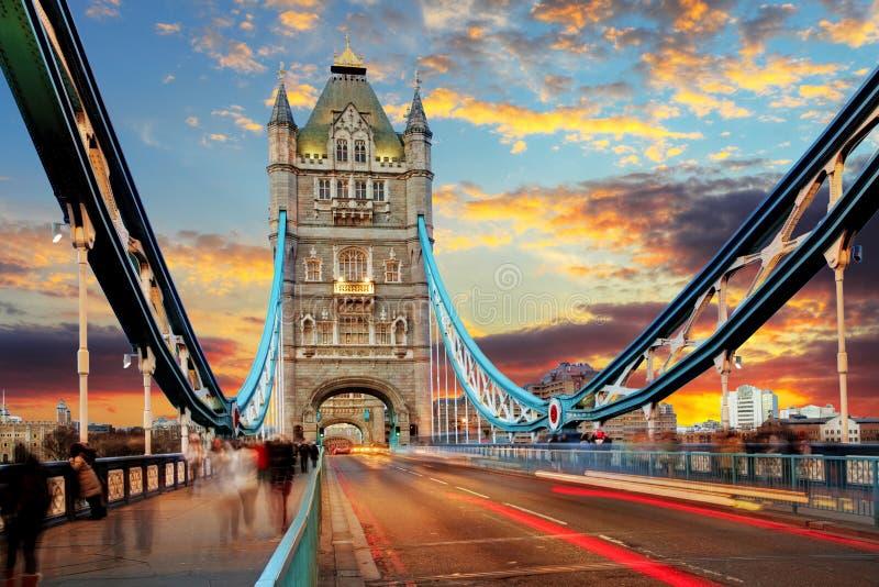 London, Tower Bridge stock photos