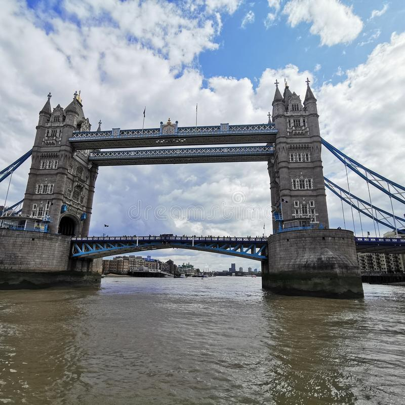 London Tower Bridge arkivfoto