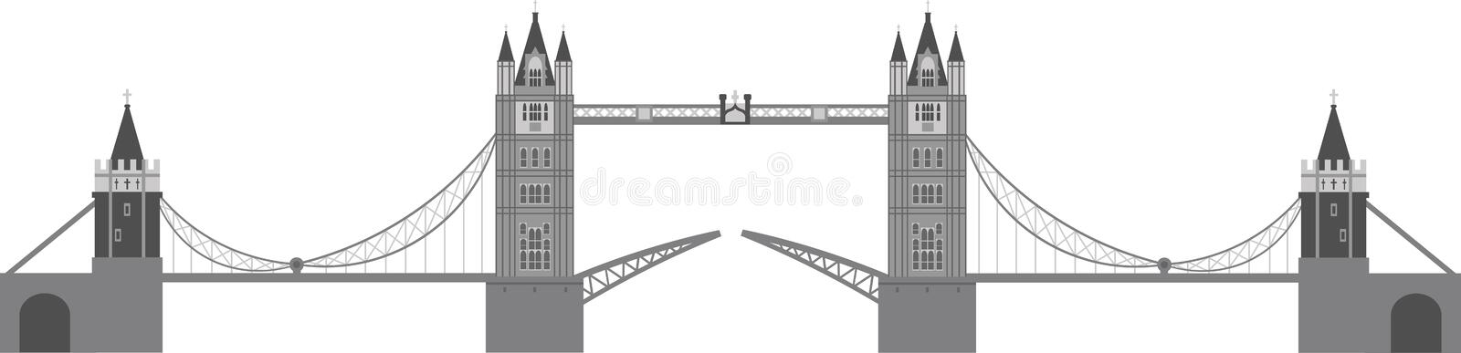 Download London Tower Bridge Illustration Stock Vector - Image: 24936499