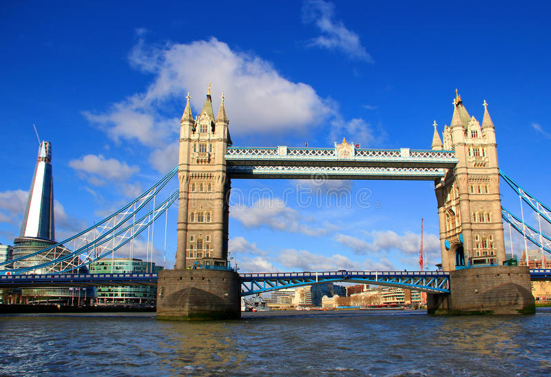 Download London Tower Bridge And Shard Stock Photo - Image of olympic, economy: 25702964