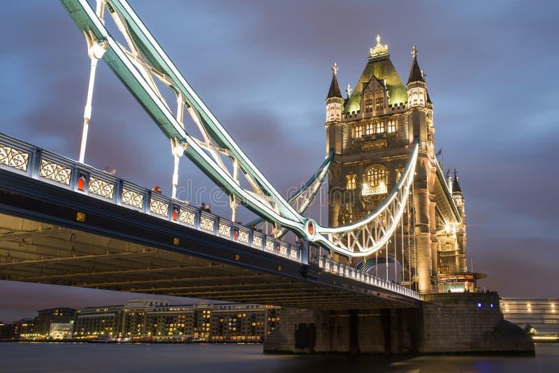 London Tower Bridge On Sunset Stock Images