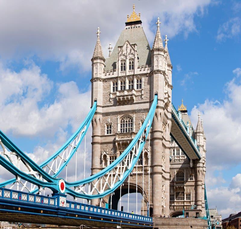 London Tower Panorama stock photo