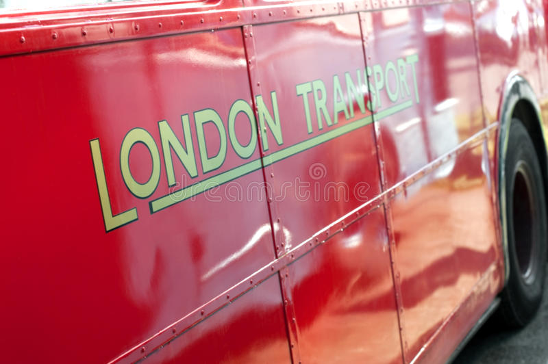 london transport royaltyfri foto