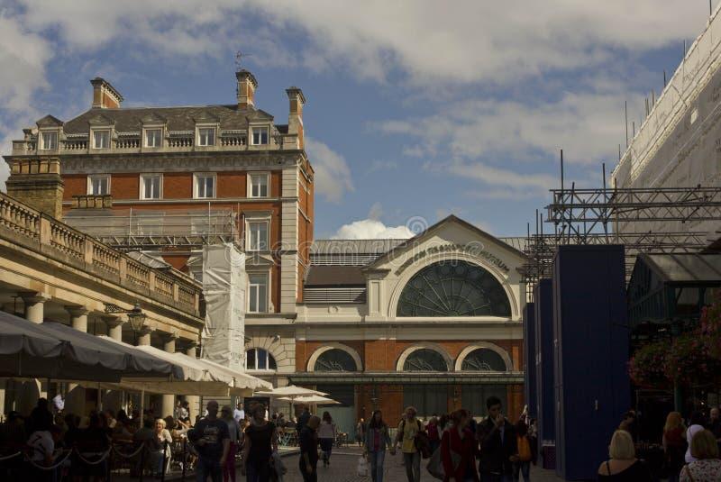 London transportmuseum royaltyfri foto