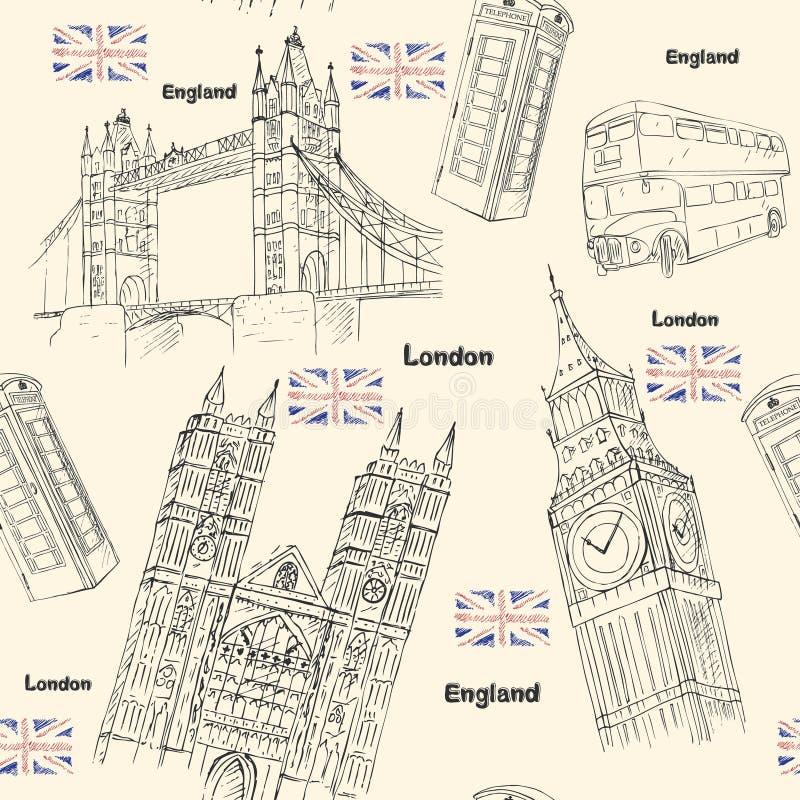 London travel royalty free illustration