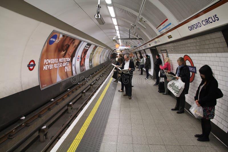 London Tube Editorial Stock Image