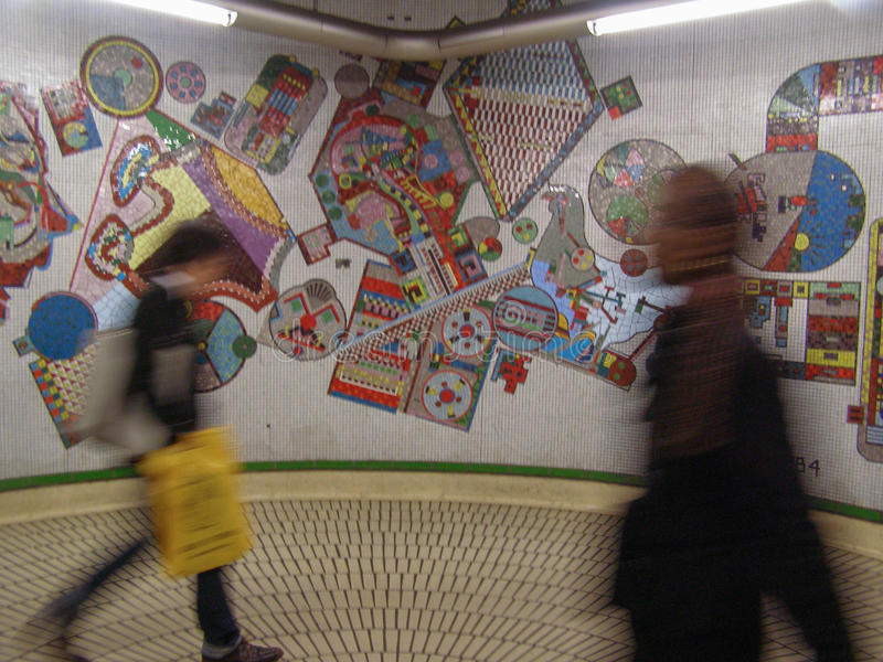 London Tube stock image