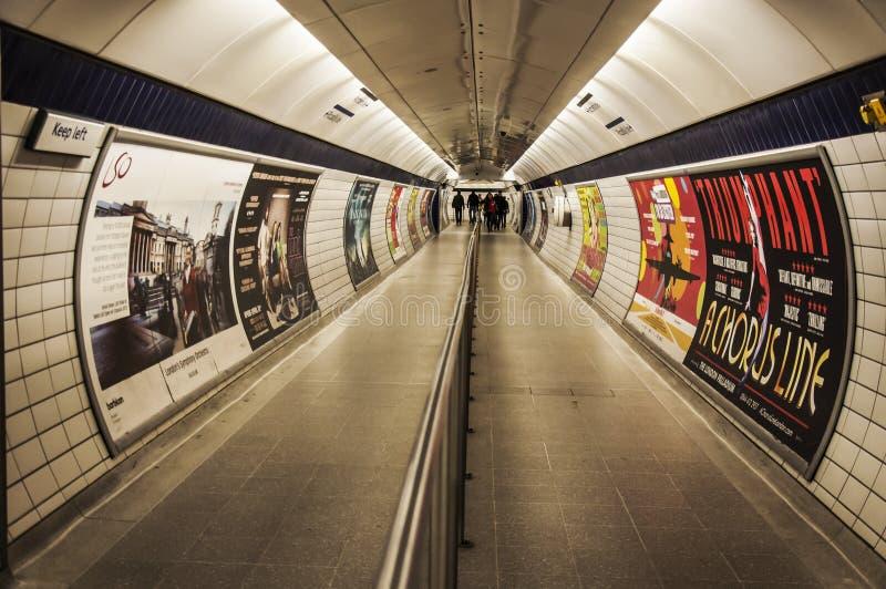 London-U-Bahn Redaktionelles Bild