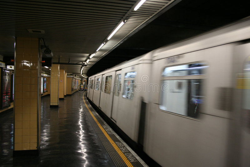 London-U-Bahnhof lizenzfreies stockbild