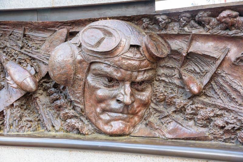 Battle of Britain Memorial in London stock image
