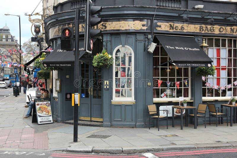 London pub royalty free stock photos