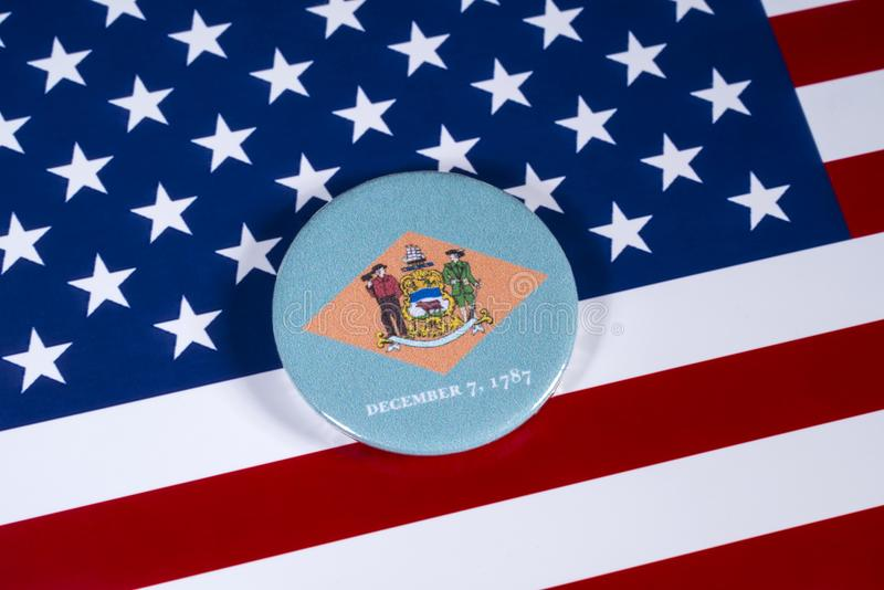 State of Delaware in the USA stock images