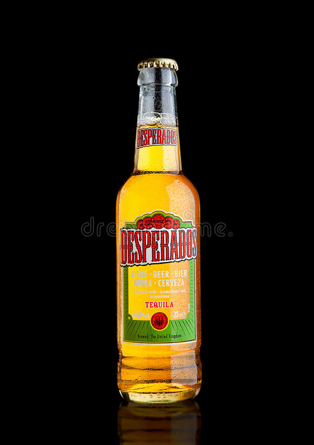 London Uk December 15 2016 Bottle Of Desperados Beer Lager Flavored With Tequila Is A Popular Beer Produced By Heineken And Editorial Stock Photo Image Of Grocery Drink 82695793