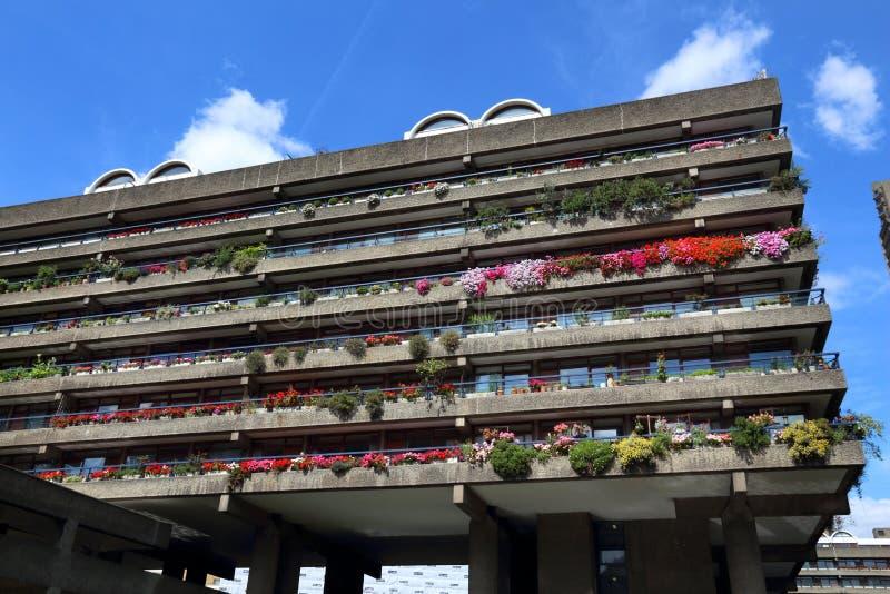 London Barbican stock photo