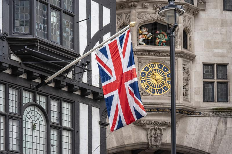 London, UK, July 14, 2019. Liberty, commonly known as Liberty`s, is a department store in Great Marlborough Street, in the West. London, UK, July 14 , 2019 stock photography