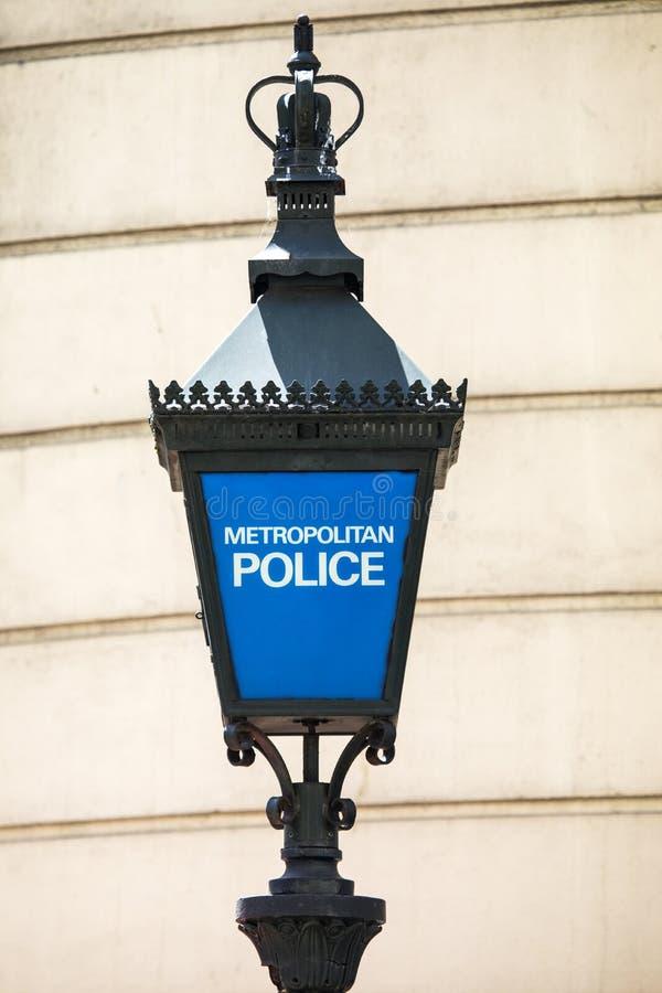 Metropolitan Police Sign royalty free stock photos