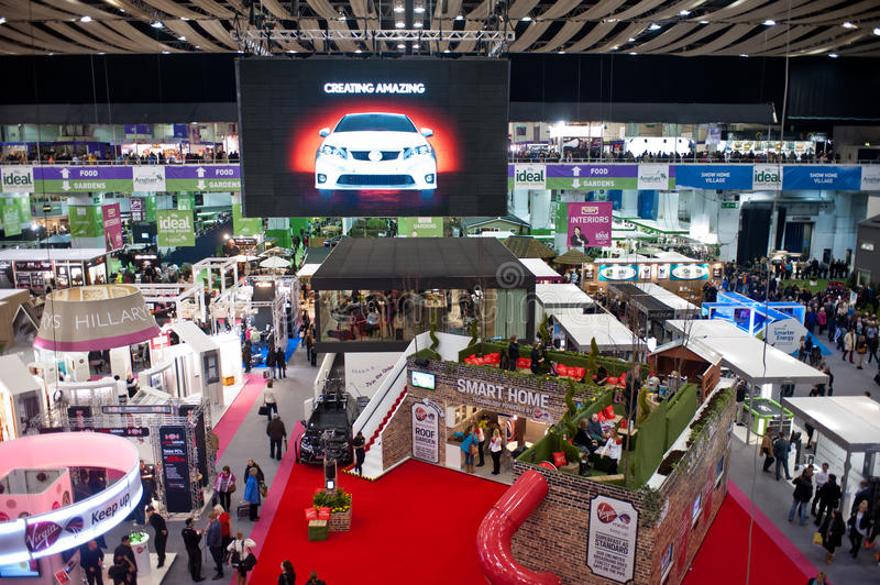 Download Ideal Home Show 2013 editorial stock image. Image of exhibition - 29829229