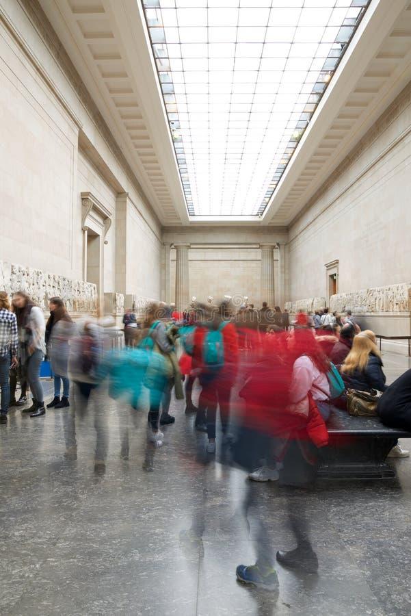 British Museum in London stock image