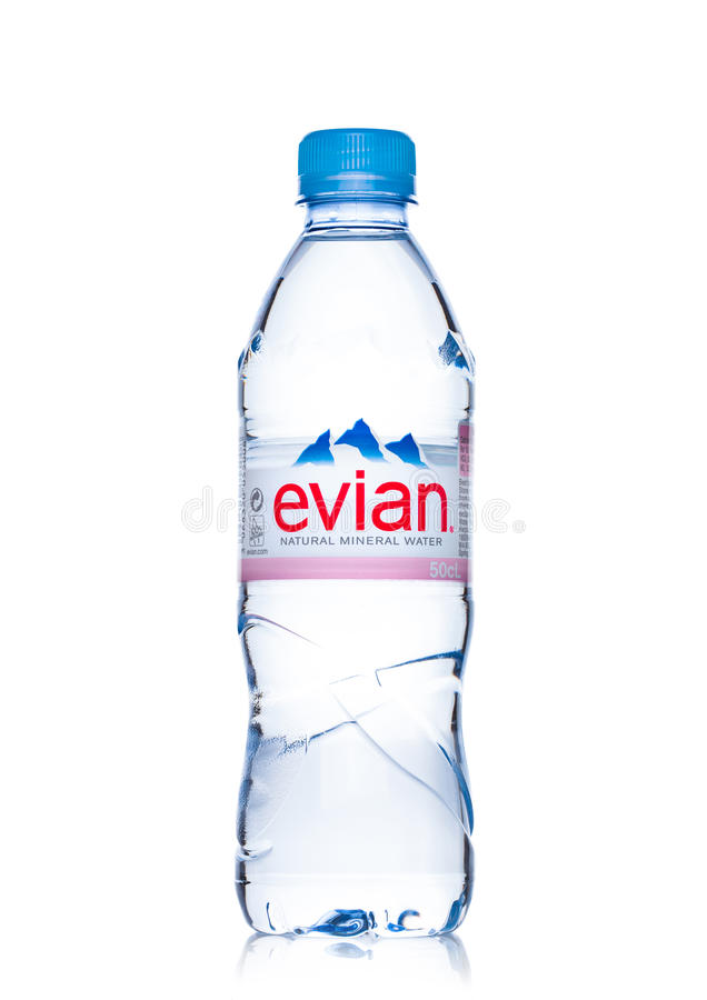 1 liter evian bottle - 3 6
